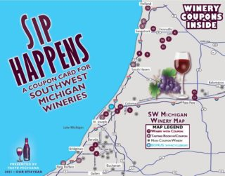 Sip Happens Wnery Coupon Card 2021