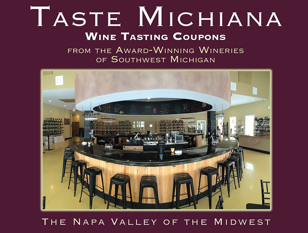 Taste Michiana Wine Tasting Coupon Card
