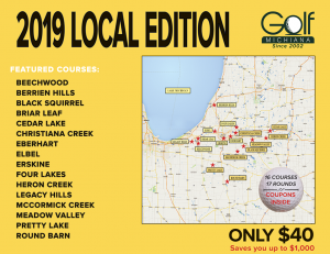 2019 LOCAL Golf Michiana Cover