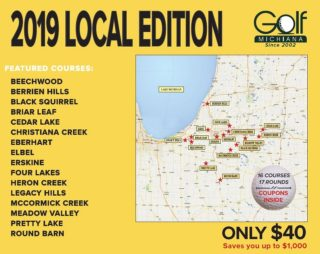 LOCAL Golf Michiana 2019 Cover