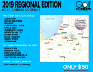 Regional Golf Michiana Final Cover