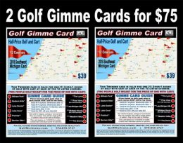 Golf Michiana Golf Gimme Card Combo