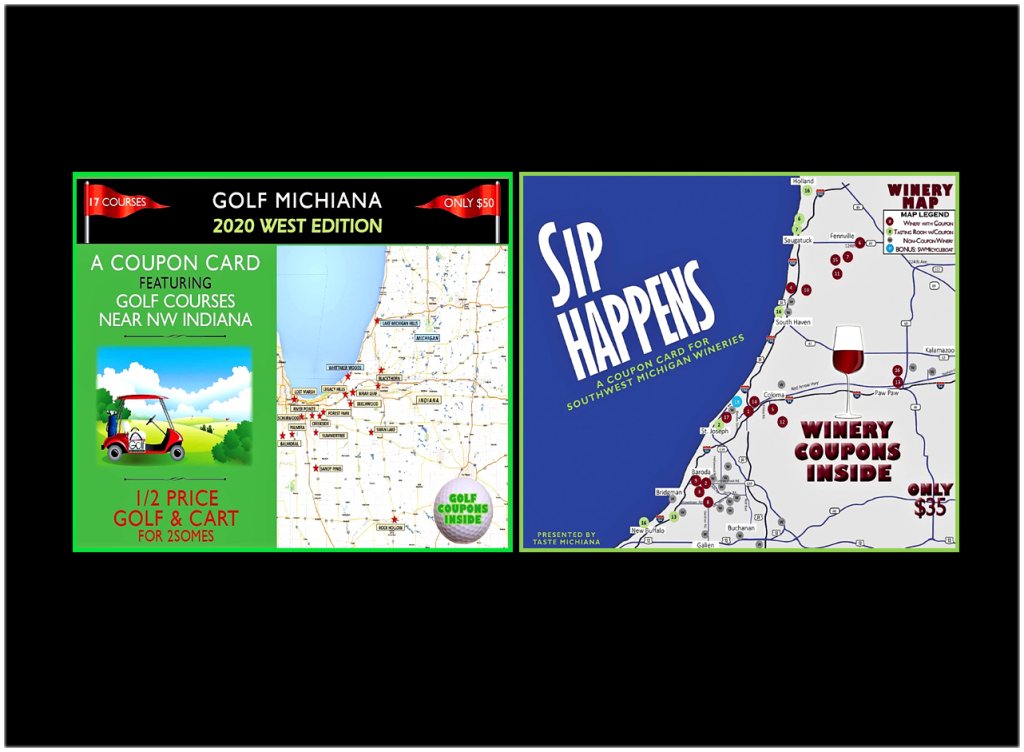 2020 Golf Michiana West and Sip Happens Combo