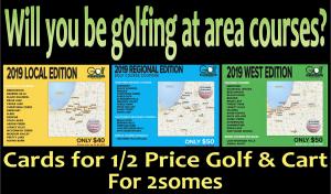 Golf Michiana Card Display 2019