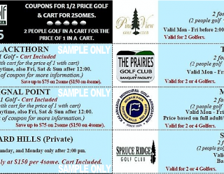 Michigan Mini #6 Sample Coupons Golf Michiana