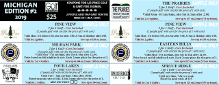 Michigan Mini Edition #2 Sample Coupons Golf Michiana