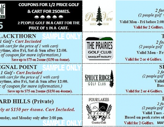 Michigan Mini Edition #5 Sample Coupons Golf Michiana