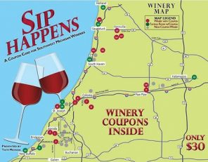 Sip Happens Winery Coupon Card