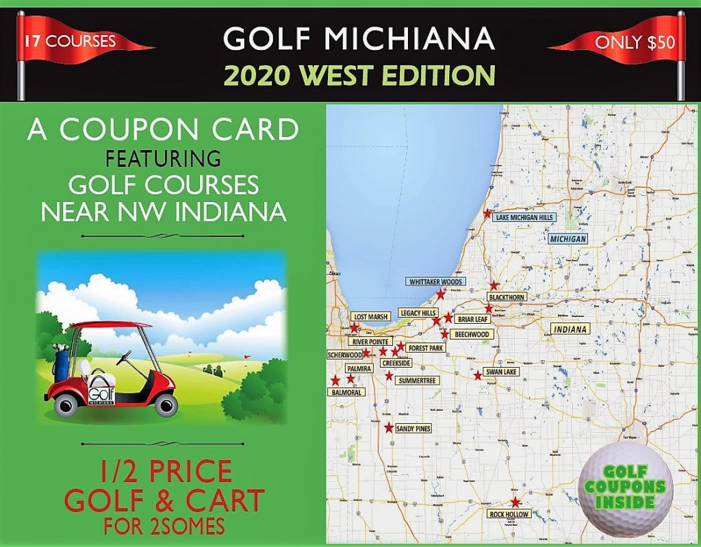 2020 Golf Michiana West Coupon Cover