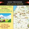 2020 Golf Michiana Local Coupon Cover