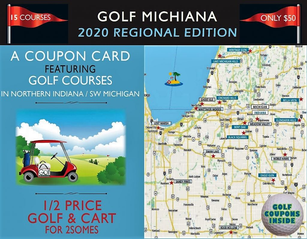 2020 Golf Michiana Regional Cover