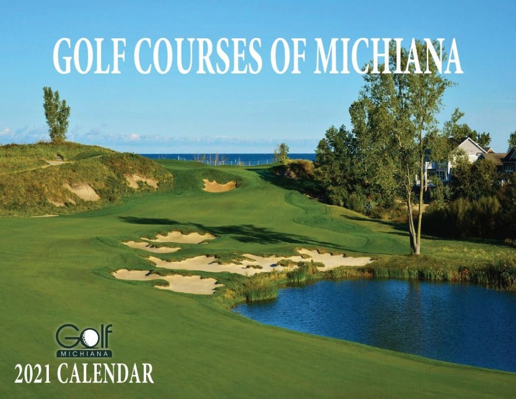 2021 Golf Courses of Michiana Calendar Cover