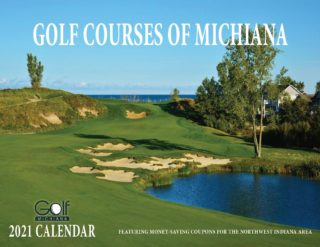 2021 Golf Courses of Michiana Calendar - NW IN - Compressed