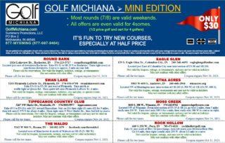 Mini Edition Golf Michiana 2021 - BACK