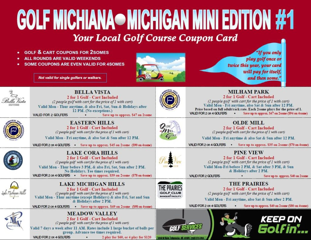 #1 Michigan Mini Card Exp Nov 2021