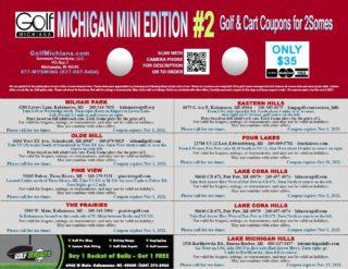 #2 Michigan Mini Golf Michiana BACK